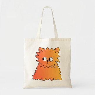 Cute Orange Long Hair Cat Bags