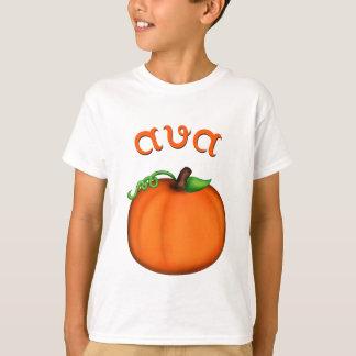 Cute Orange Pumpkin for Ava T-Shirt