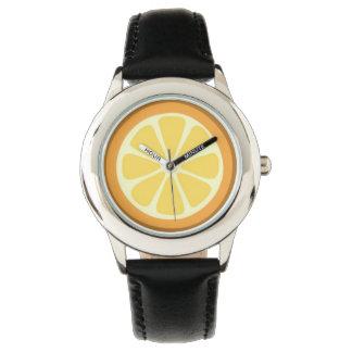 Cute Orange Slice Watch