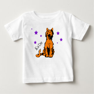 cute orange tabby cat baby T-Shirt