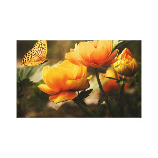 cute orangeflower wall art