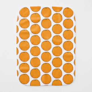 Cute Oranges Burp Cloth