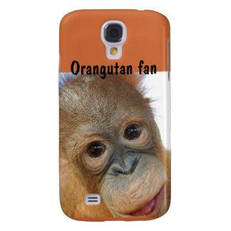 Cute Orangutan Redhead Baby Galaxy S4 Case