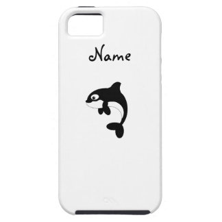 Cute orca whale tough iPhone 5 case