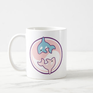 Cute Orca Whale Yin Yang Coffee Mug
