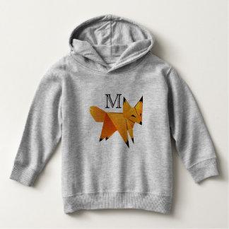 Cute Origami Paper Fox - Personalized Hoodie