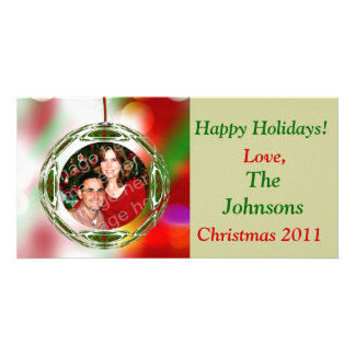 Cute Ornament Christmas Picture Card