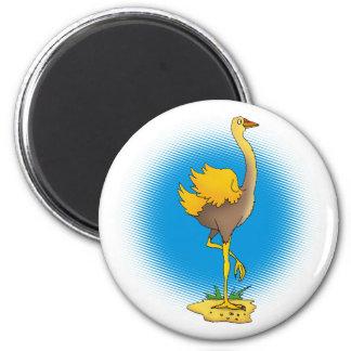 Cute ostrich - Magnet