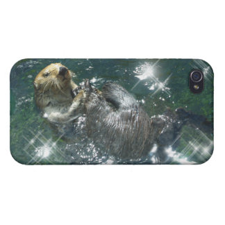 Cute Otter Design for Animal-lovers Case For iPhone 4