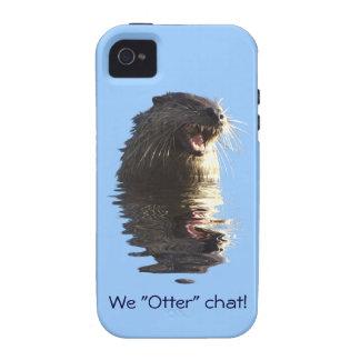 Cute Otter Wildlife Otter-lover Animal-lover iPhone 4 Cover