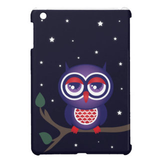 Cute Owl at Night iPad Mini Case