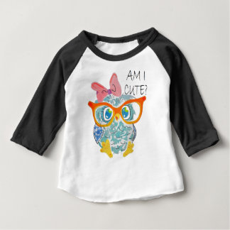 Cute Owl Baby T-Shirt