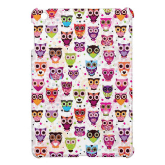 Cute owl background pattern for kids cover for the iPad mini