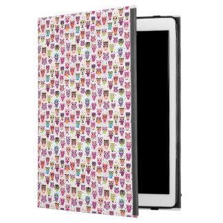"Cute owl background pattern for kids iPad pro 12.9"" case"