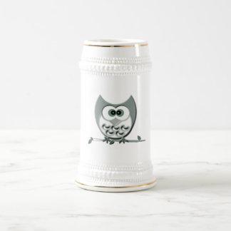 Cute Owl Beer Stein