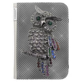 cute owl bling cases for the kindle