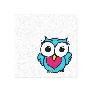 Cute Owl Canvas