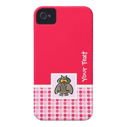 Cute Owl iPhone 4 Cover