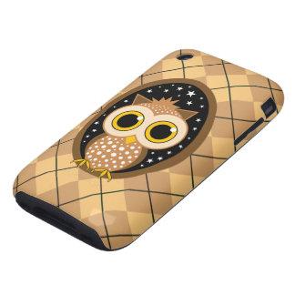 cute owl iPhone 3 tough cases