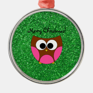 Cute owl christmas ornaments