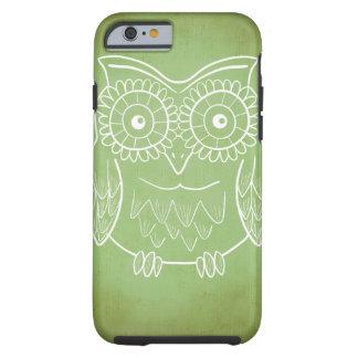 Cute Owl Drawing Tough iPhone 6 Case