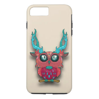 Cute Owl In The Town iPhone 7 Plus Case