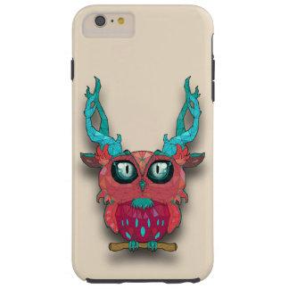 Cute Owl In The Town Tough iPhone 6 Plus Case