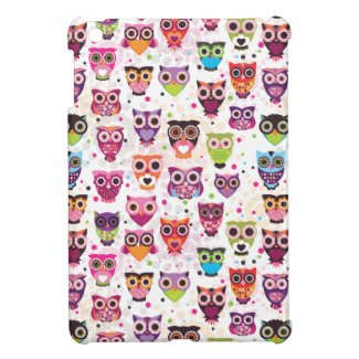 Cute owl ipad mini case - Funky