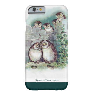 Cute Owl iPhone 6 case by Louis Wain