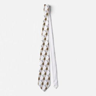 Cute Owl Knitting Tie