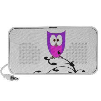 Cute Owl on a Branch Speaker