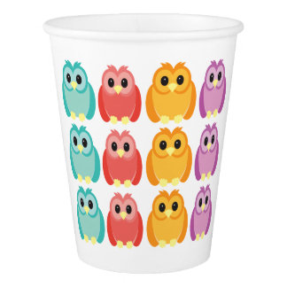 Cute Owl Party Cup