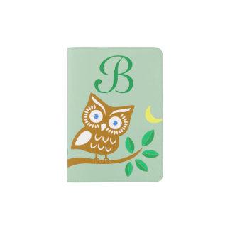 Cute Owl Passport Holder