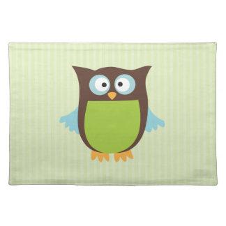Cute Owl Place Mats