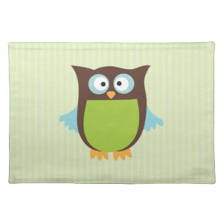 Cute Owl Placemat