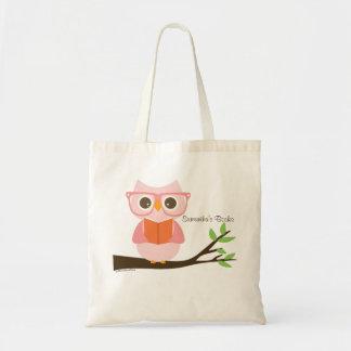 Cute Owl Reading