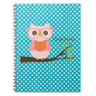 Cute Owl Reading Notebook