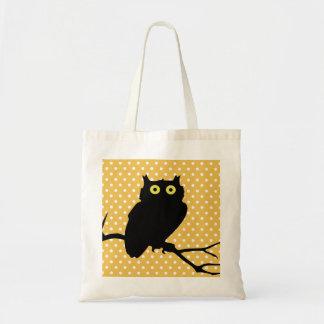 Cute owl silhouette bags