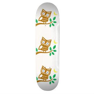 Cute Owl Skate Board Decks