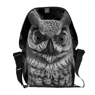 Cute Owl Statue Commuter Bag