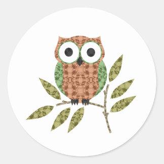 Cute Owl  Stickers