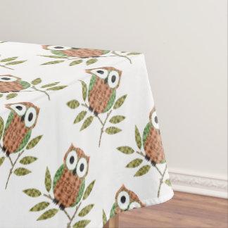Cute Owl Tablecloth