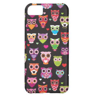 Cute owl vintage iphone 5 case