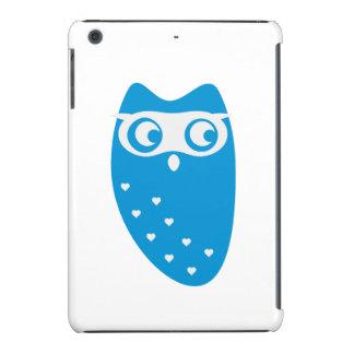 Cute owl with hearts iPad mini retina cover
