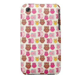 Cute Owls Case-Mate iPhone 3 Case