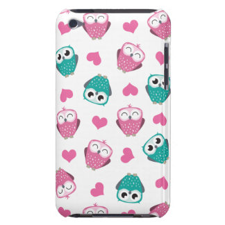 Cute Owls & Hearts iPod Touch Case