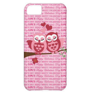 Cute Owls in Love Happy Valentine's Day Gifts iPhone 5C Case