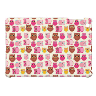 Cute Owls iPad Mini Covers