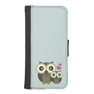 Cute owls iPhone 5 wallet