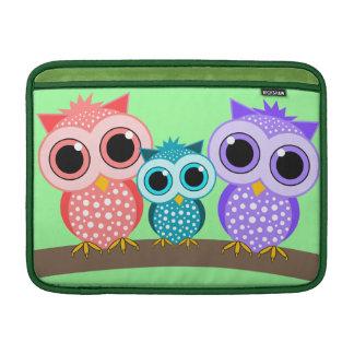 cute owls MacBook sleeve